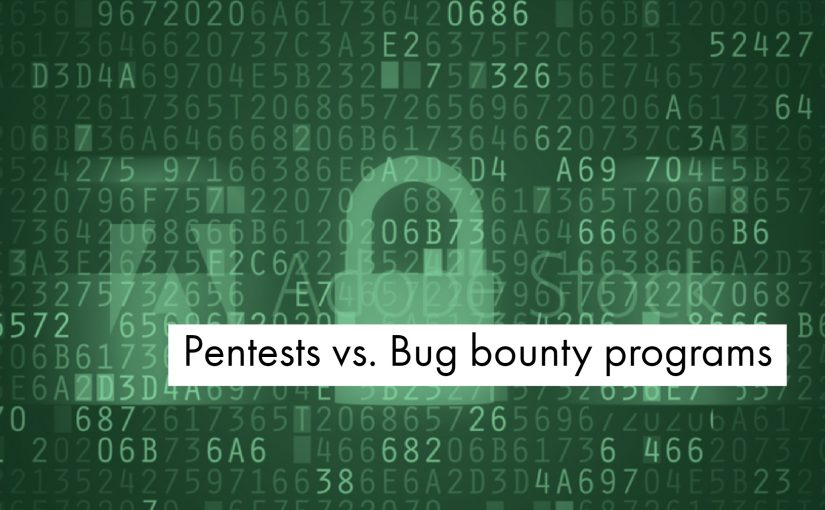 Penetration tests vs  bug bounty programs – comparison